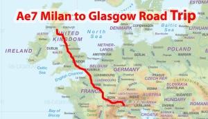 Ae7 Milan to Glasgow Road Trip