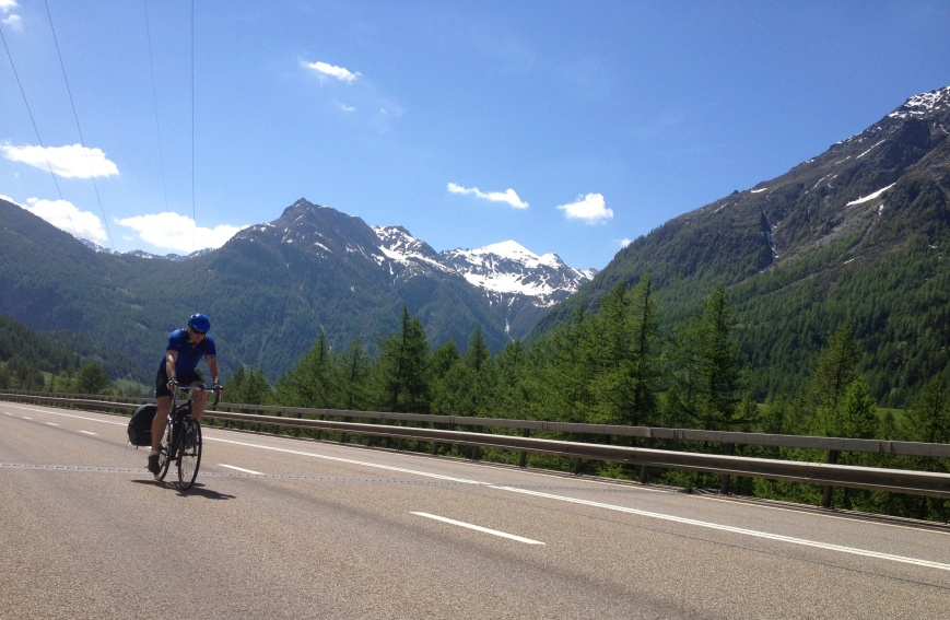 Climbing the Simplon Pass