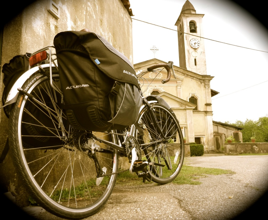 Cycling in northern Italy