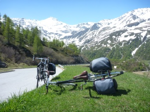 Near the top of the Simplon Pass