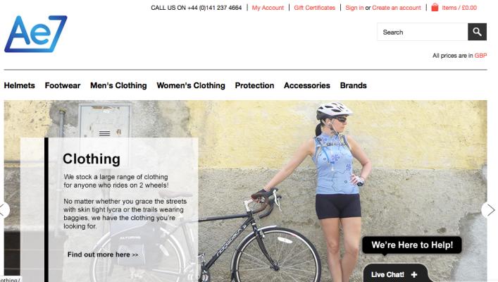 Ae7 Homepage